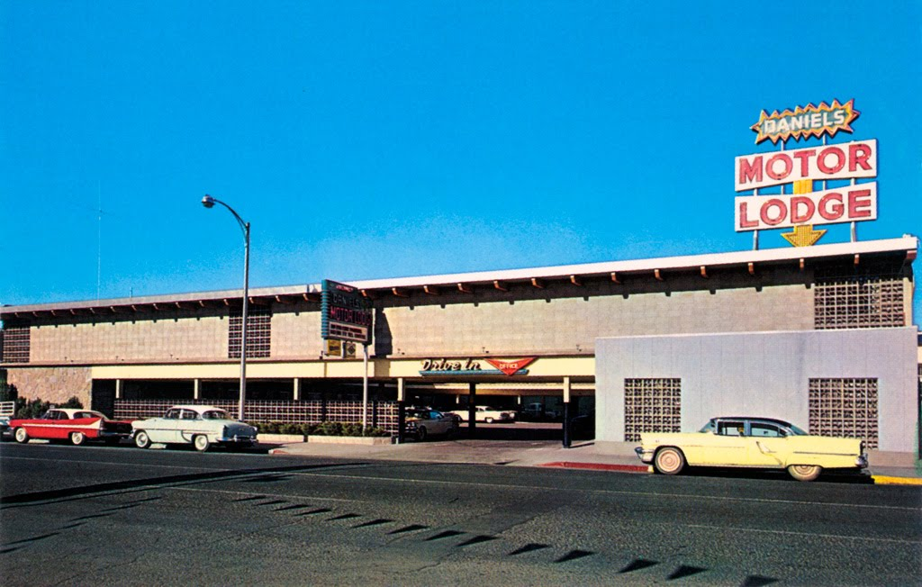 Daniels Motor Lodge in Reno, Nevada, Рино