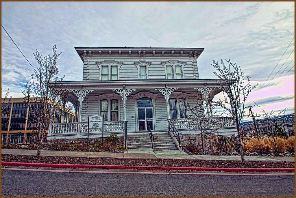 Lake Mansion - Built 1877, Рино