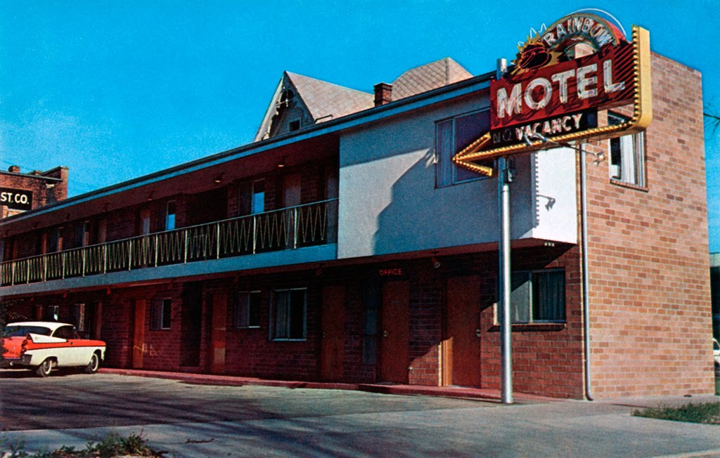 Rainbow Motel in Reno, Nevada, Рино