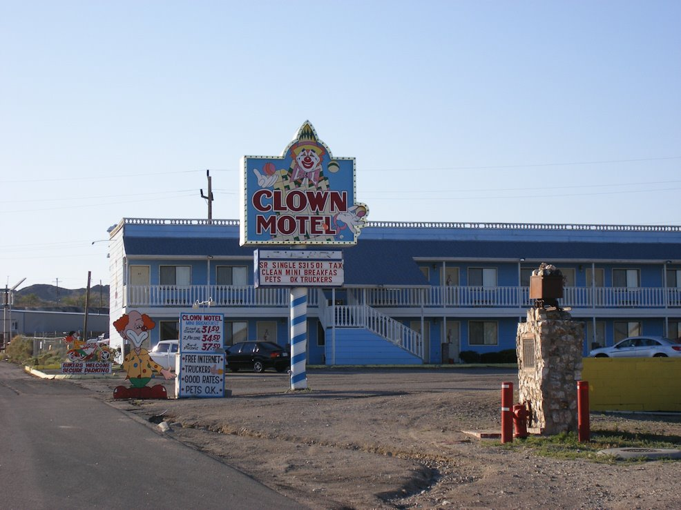 Clown Motel, Tonopah NV 2008, Тонопа