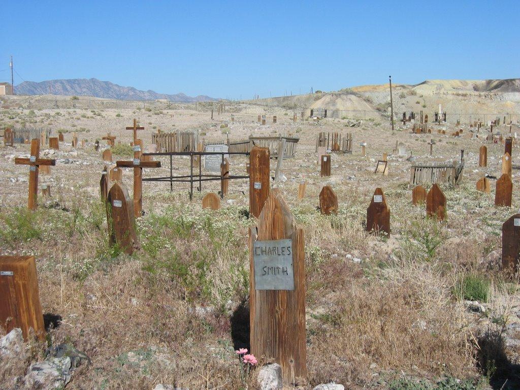 Tonopahs First Cemetery, Тонопа