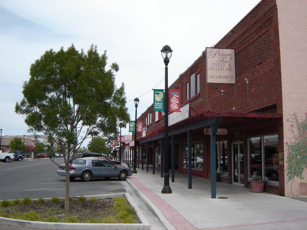 Historical Street View at Fallon NV, Фаллон