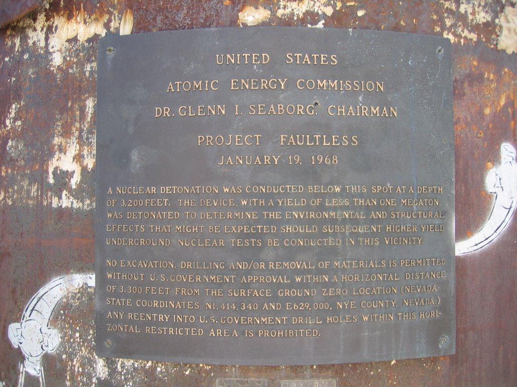 Project Faultless 1.19.1968, Хавторн