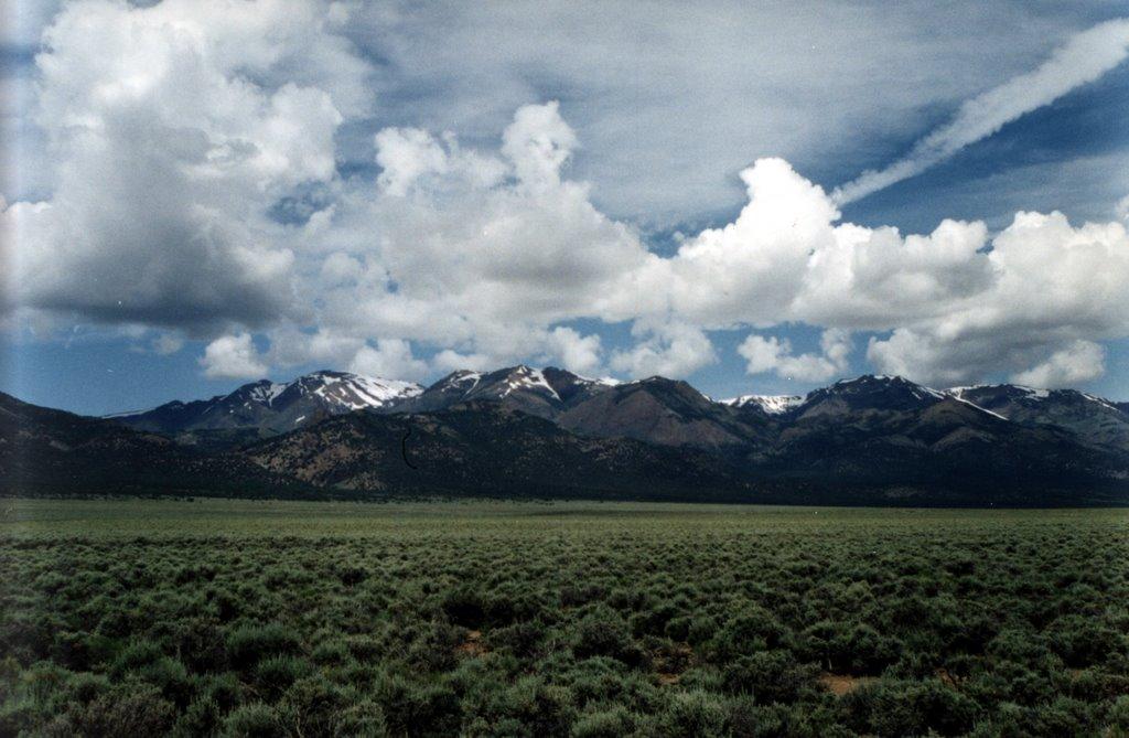 Mt. Jefferson, Nevada, Хавторн