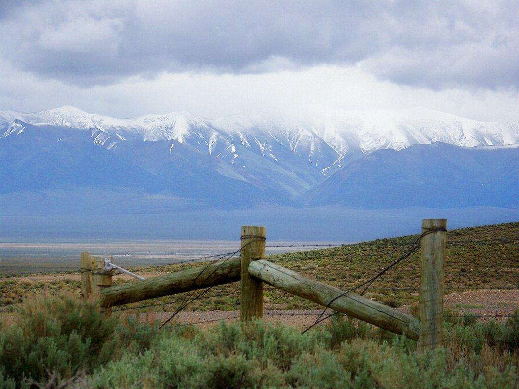 Nevadas vast great basin area, Эврика