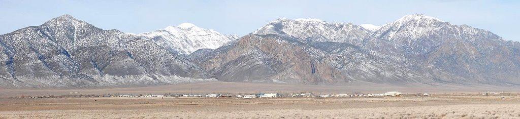 Hadley Subdivision of Round Mountain, Nevada - 200712LJW, Эврика