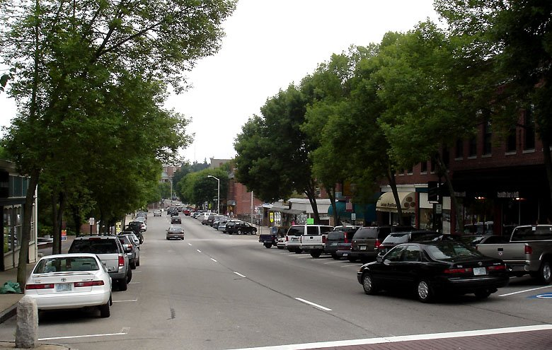 Dover,NH.Central Ave, Довер