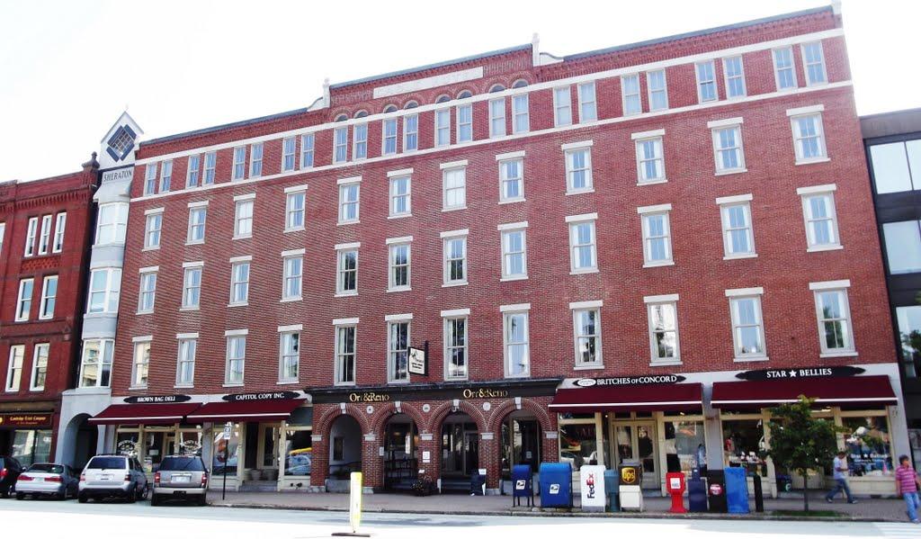 The old Eagle hotel., Конкорд