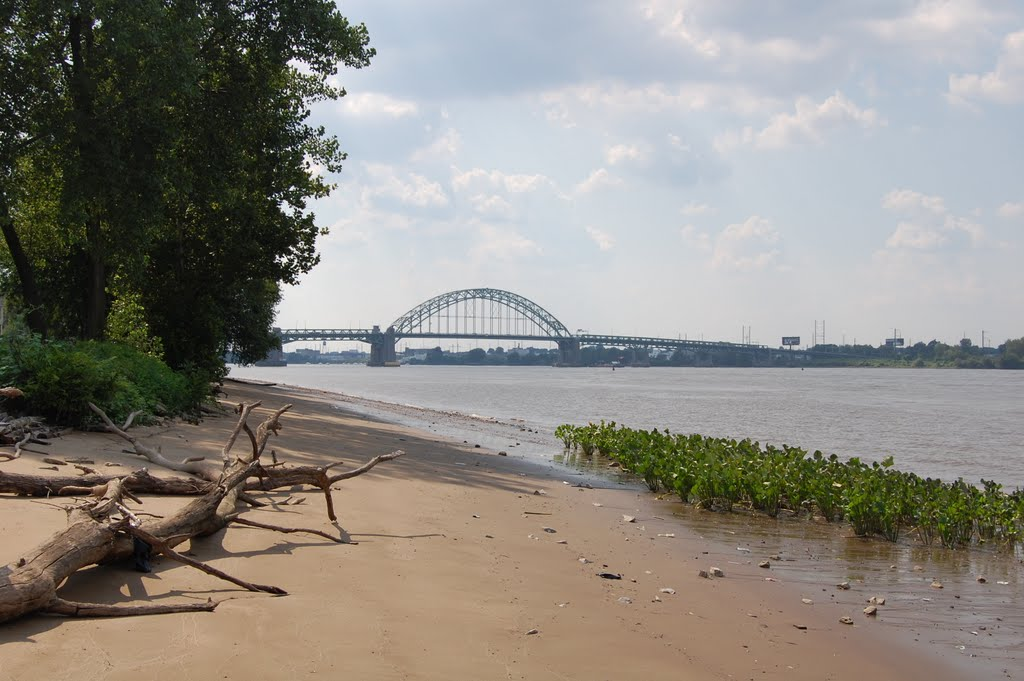 River Coast view of Bridge, Пальмира