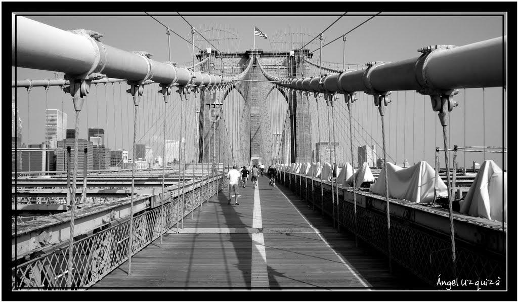 Brooklyn Bridge - New York - NY, Ватертаун