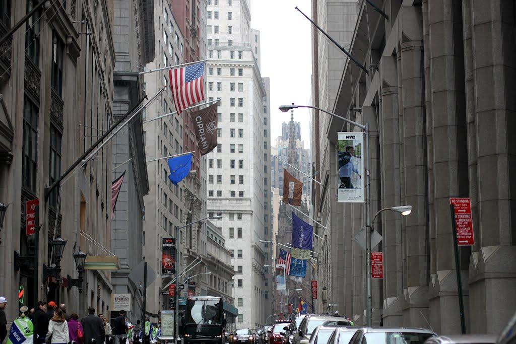 Wall Street, Ватертаун