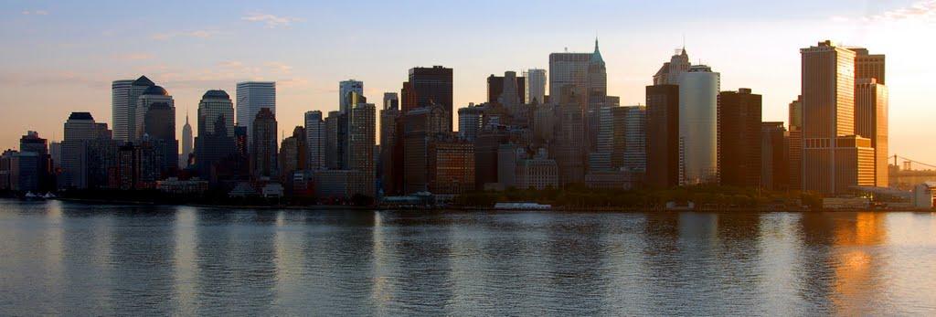 New York - New York; panoràmica Manhattan!, Ист-Патчога