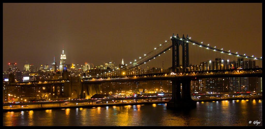 Manhattan Bridge, Ист-Патчога