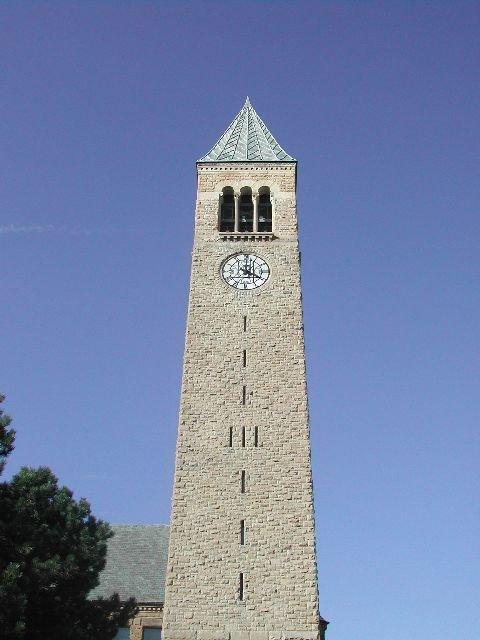 McGraw Tower, Cornell University, Ithaca, NY, Итака