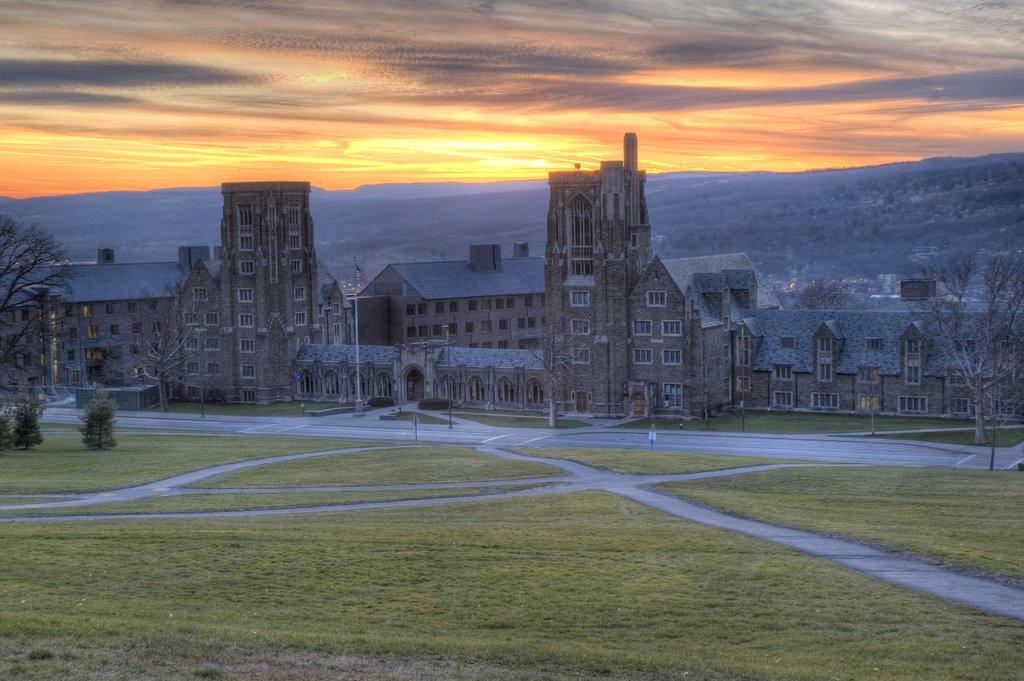 west campus, Cornell University, Итака