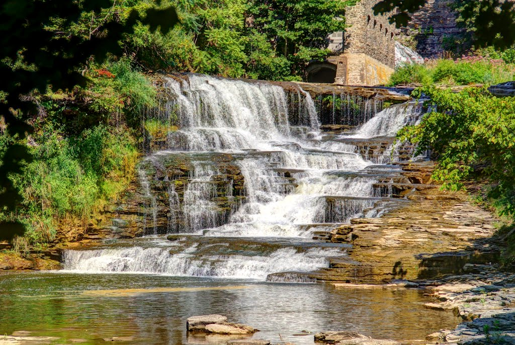 Foaming Falls - Fall Creek Gorge, Итака