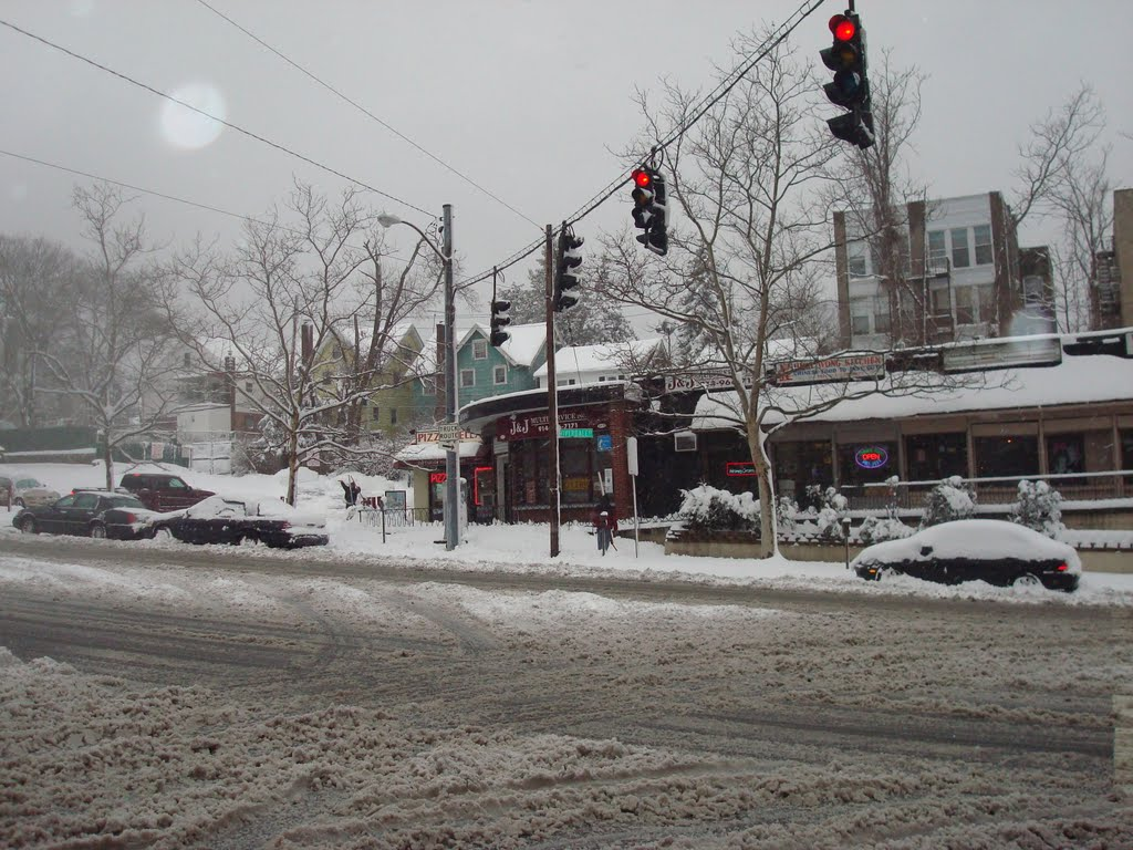 Blizzard, Riverdale Ave and Radford St, Йонкерс