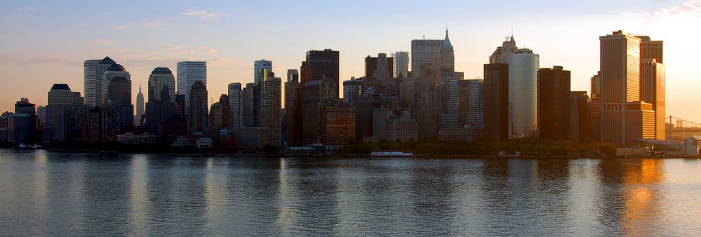 New York - New York; panoràmica Manhattan!, Камиллус