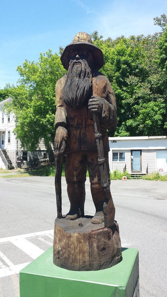 Rip Van Winkle statue, Катскилл