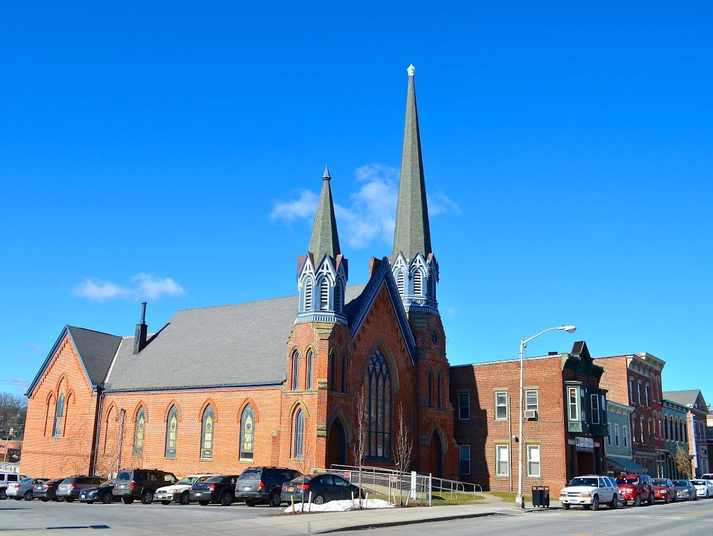 Church in Catskill, NY, Катскилл