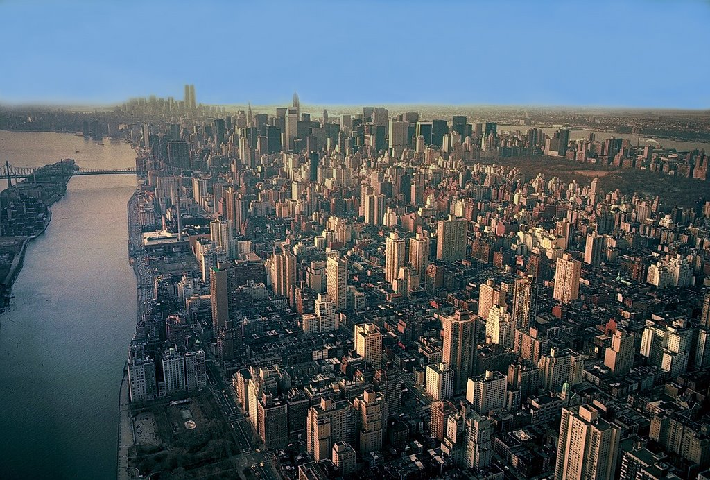 Flying on New York, 1981, Квинс