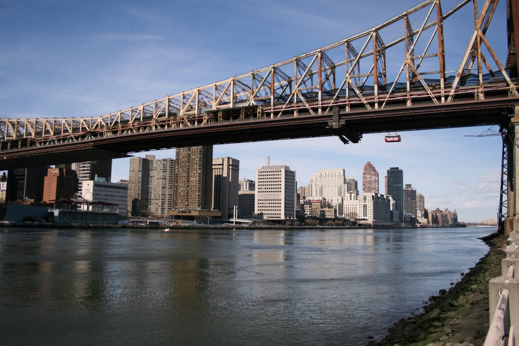 View from Roosevelt Island, Квинс