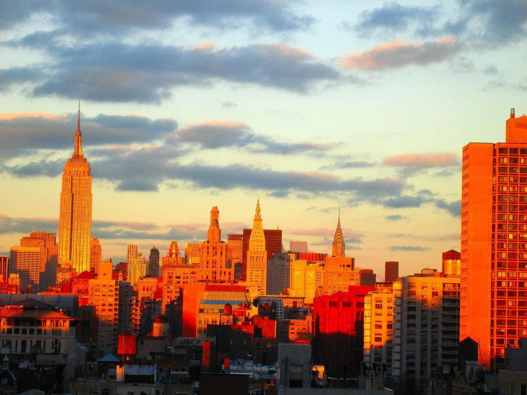 New York City Skyline Afternoon by Jeremiah Christopher, Кев-Гарденс