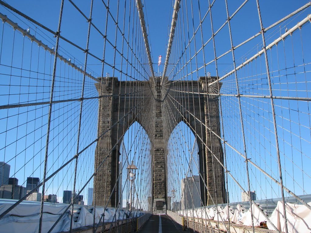 Dec.2010 New York City (Brooklyn Bridge), Кев-Гарденс