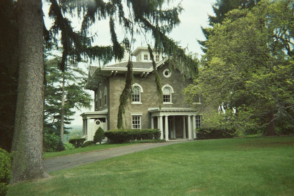 Henry A. Samson house, c. 1853, Кингстон