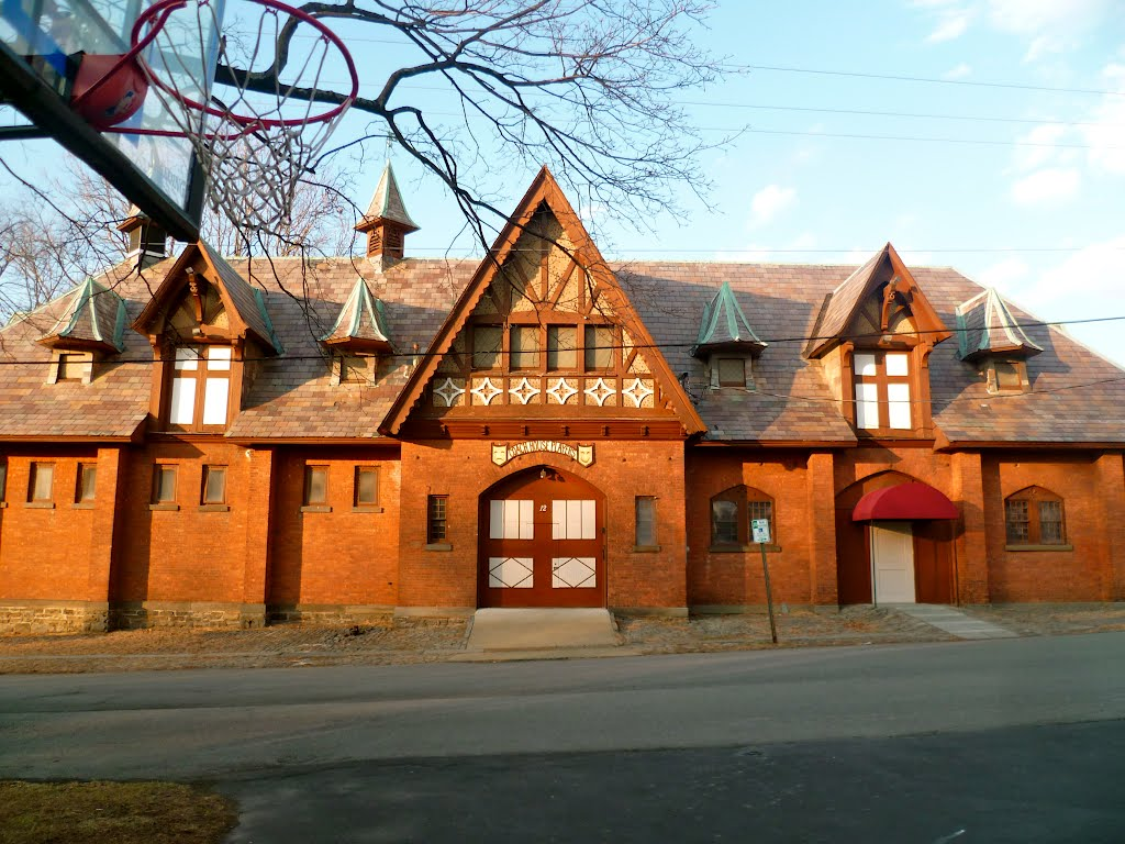 carriage house for Samuel Coykendall, 1894, Кингстон