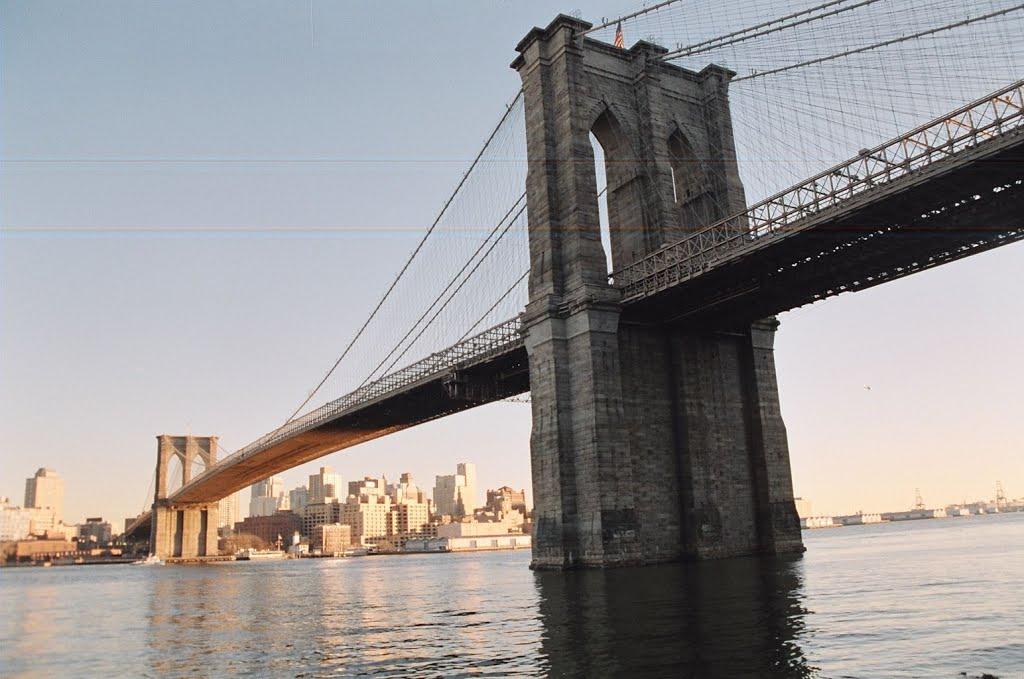 Brooklyn bridge, Кларк-Миллс