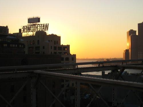 Watchtower New York Sunset, Кларк-Миллс