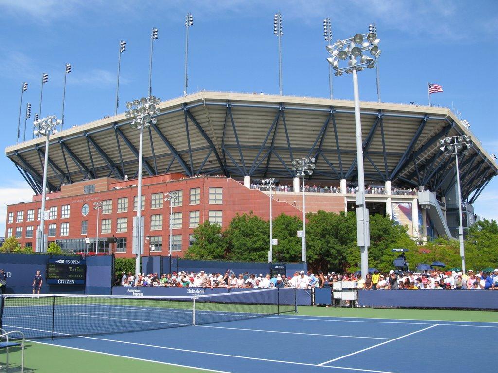 US Open Artur Ashe Stadium, Корона