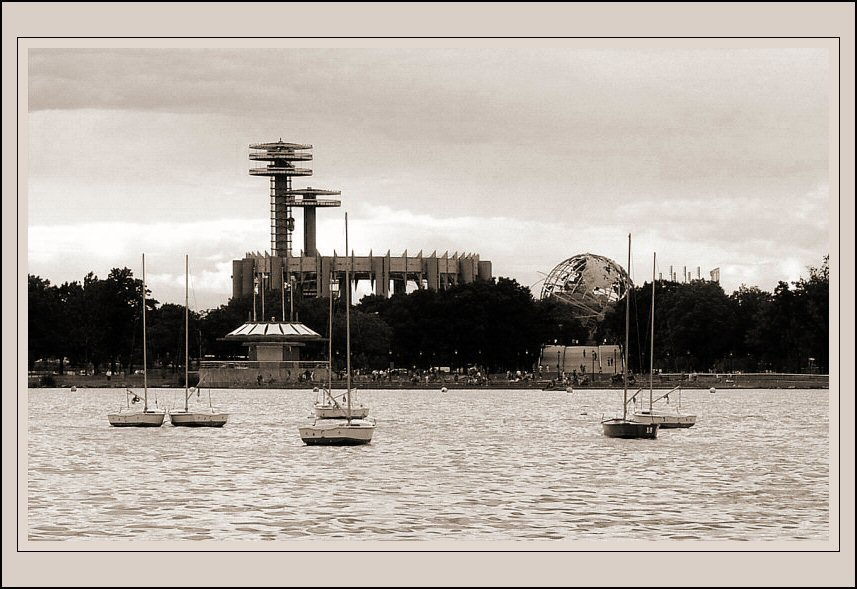 Flushing Meadows Park, in Queens, New York, Корона
