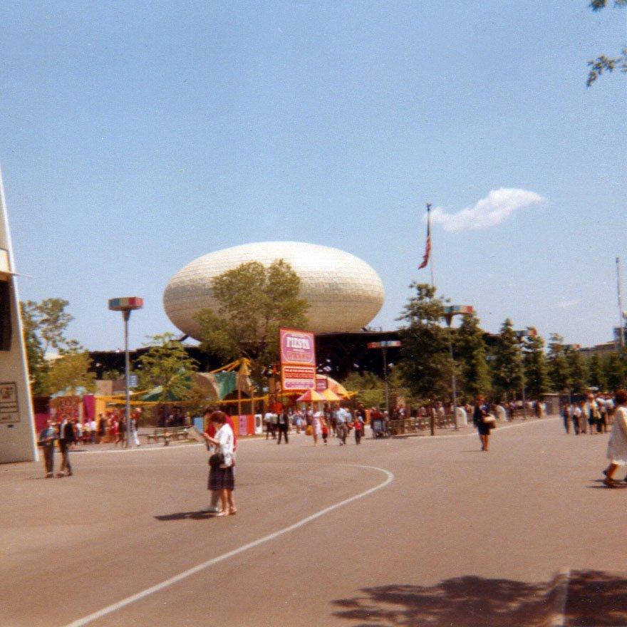 New York Worlds Fair, 1964, IBM Pavillion, Корона