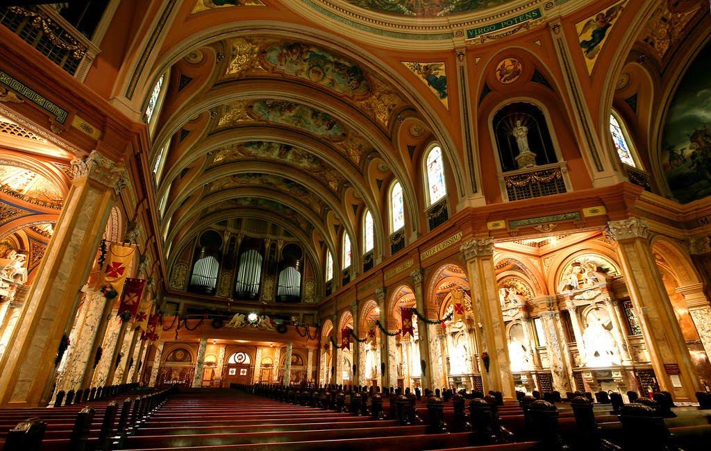 Our Lady of Victory Basilica interior, Лакаванна