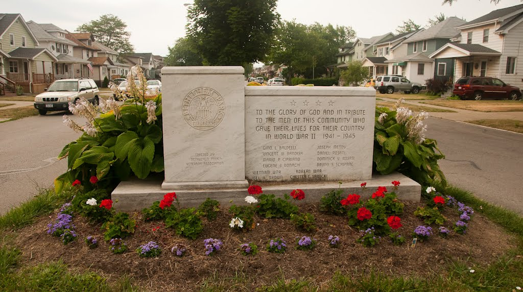 Bethlehem Park World War II Memorial, Лакаванна