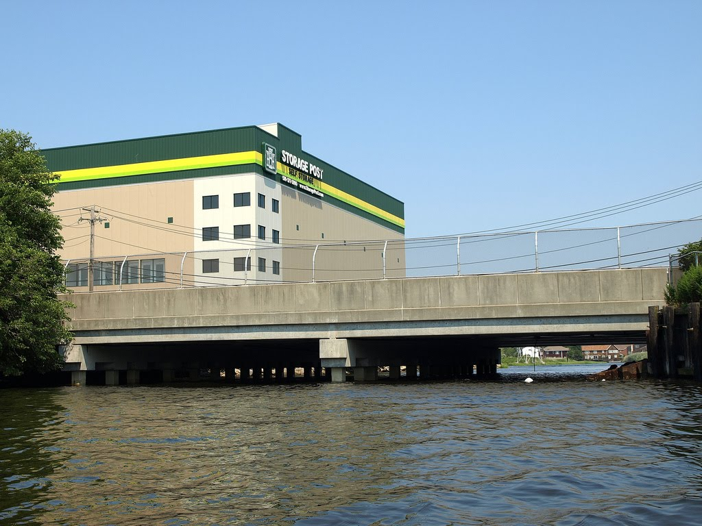Rockaway Turnpike Bridge over Motts Creek, Nassau County, New York, Лауренс
