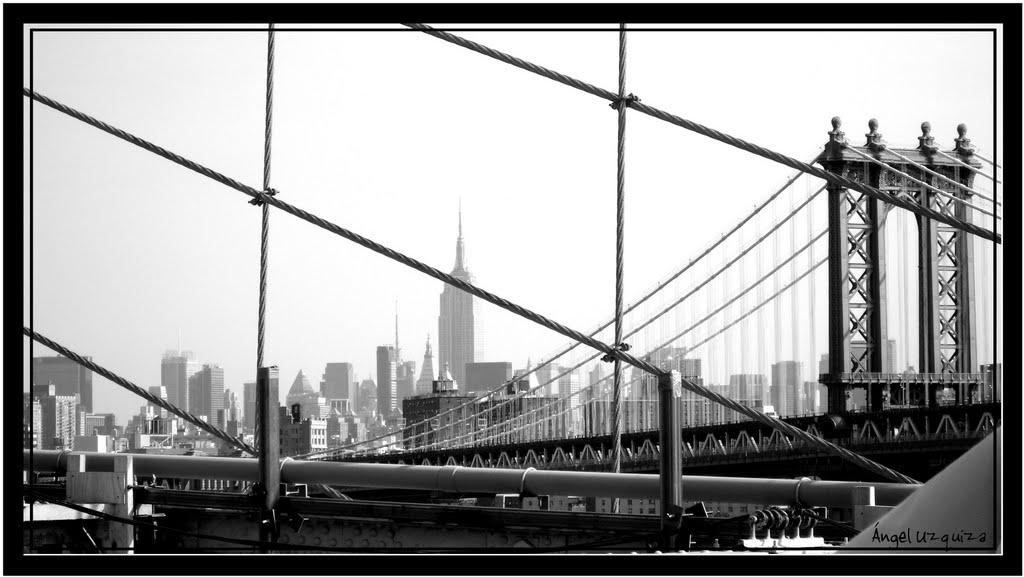 Manhattan Bridge - New York - NY, Лейк-Плэсид