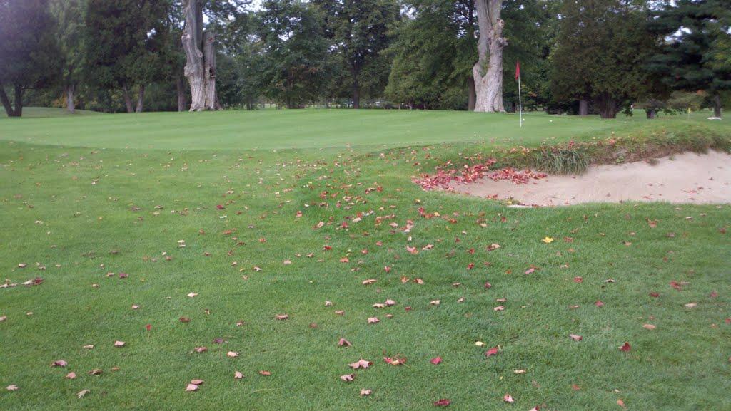 Early autumn golf in liverpool, Ливерпуль