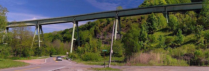 Lockport Railroad Bridge, Локпорт