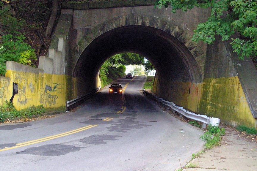 Spring Street Tunnel, Lockport, NY, Локпорт