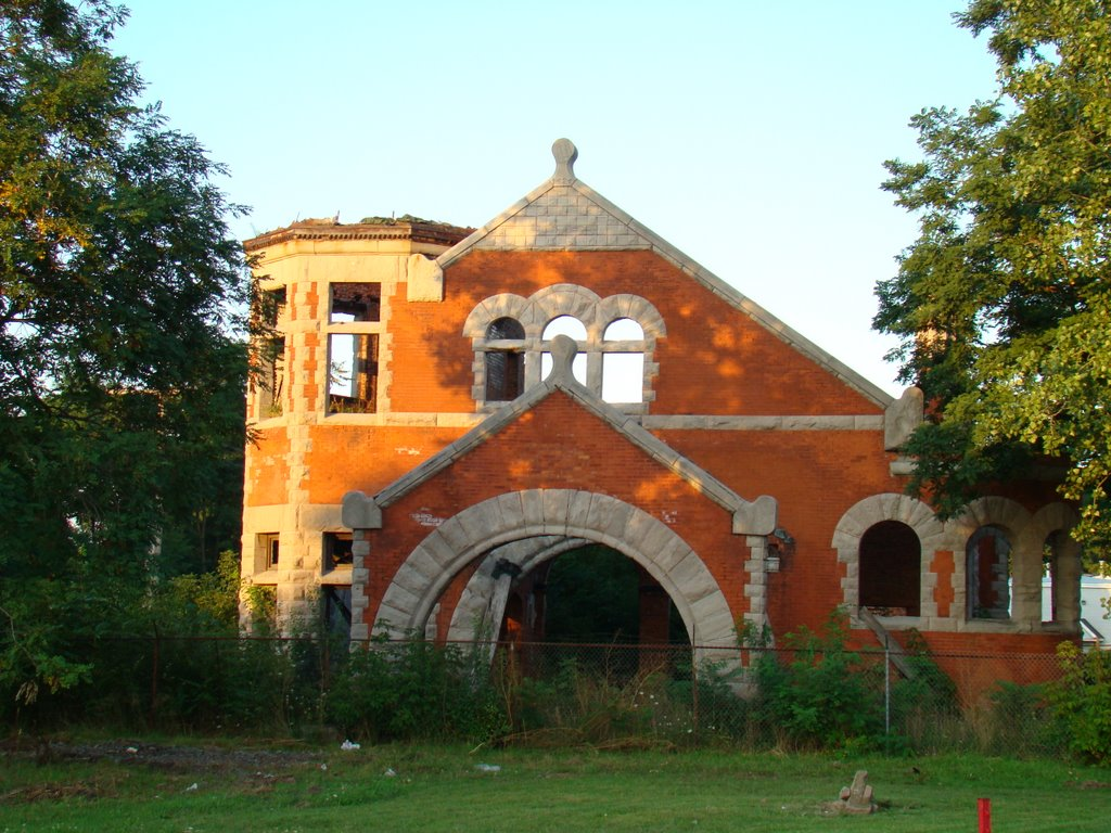 Old train station?, Локпорт