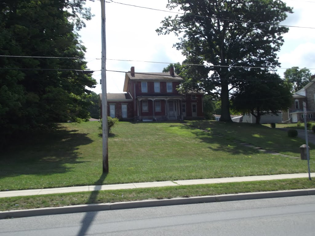 Home along the Erie, Локпорт