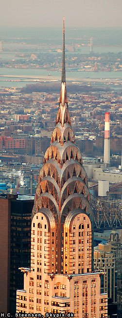 Chrysler Building, Лонг-Айленд-Сити