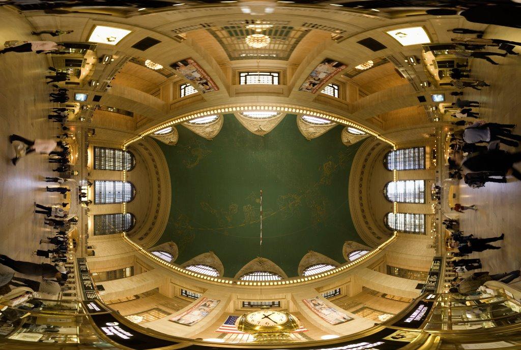 Grand Central Terminal - Looking Up, Лонг-Айленд-Сити