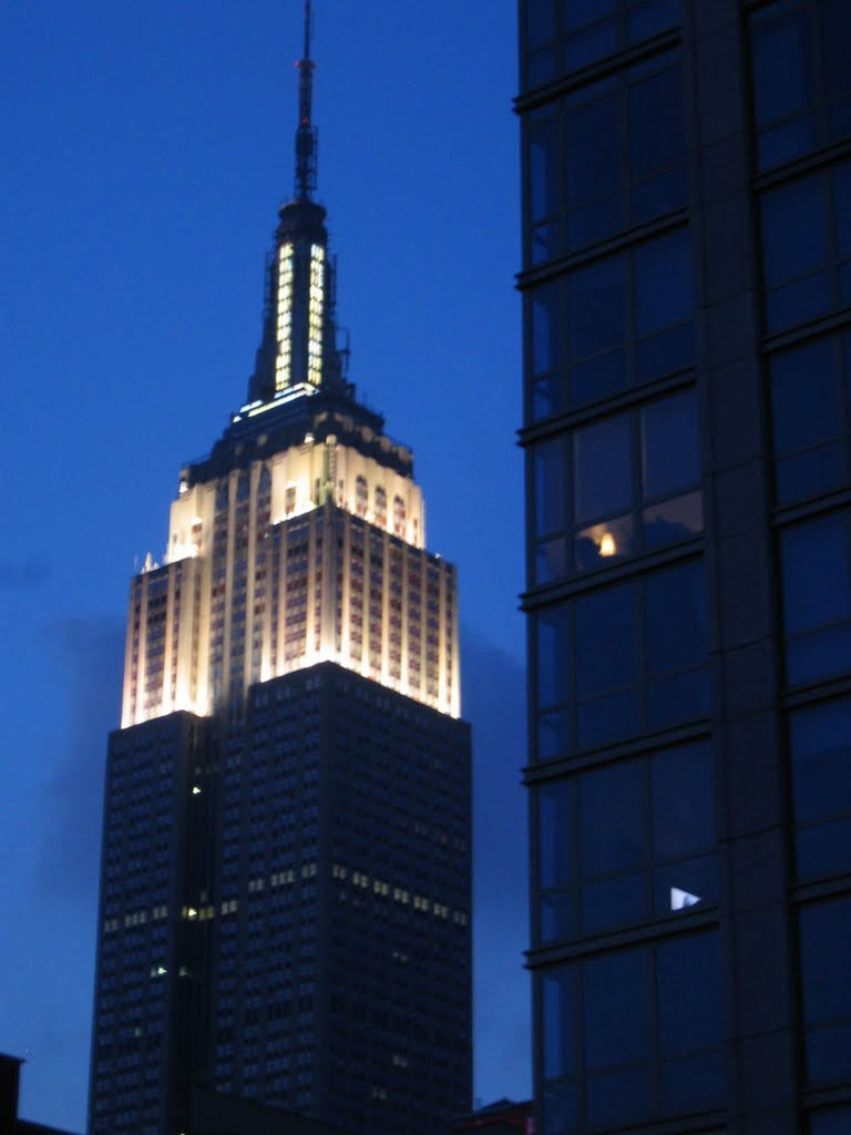 Empire State Buildng from Gainsvoort Hotel - Park Avenue, NYC, Лонг-Айленд-Сити