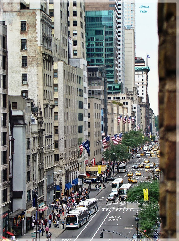 New York, New York.... 5th Avenue (by Ahmet Bekir), Лонг-Айленд-Сити
