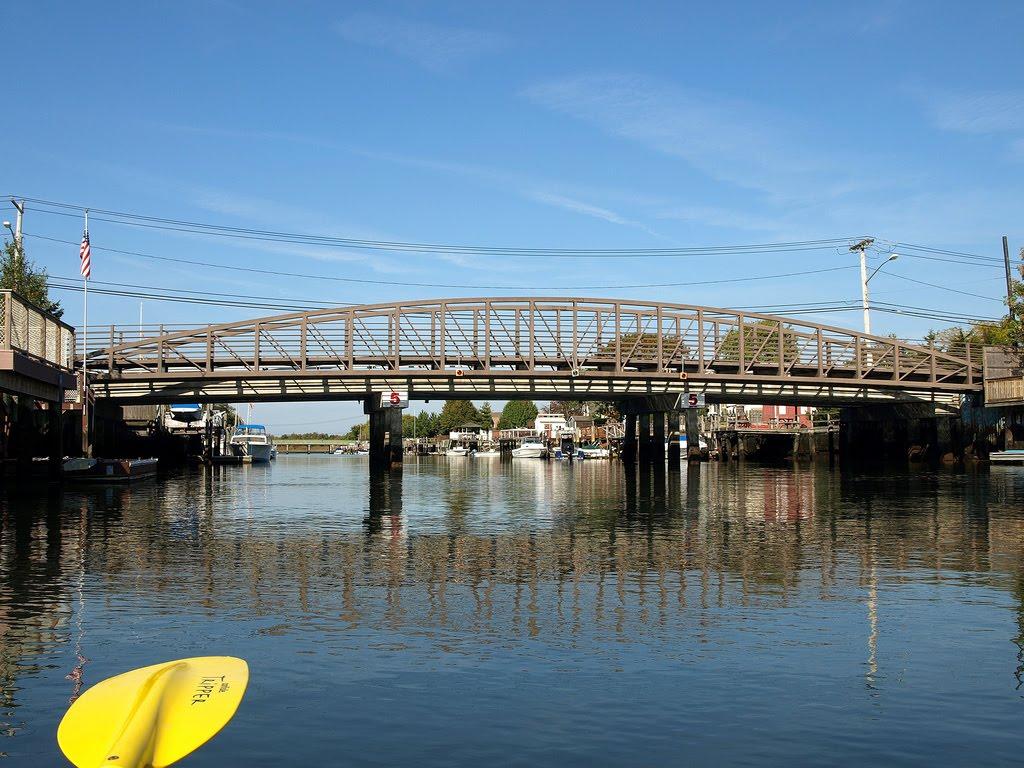 Warwick Boulevard Bridge over Island Park Channel, Nassau County, New York, Лонг-Бич