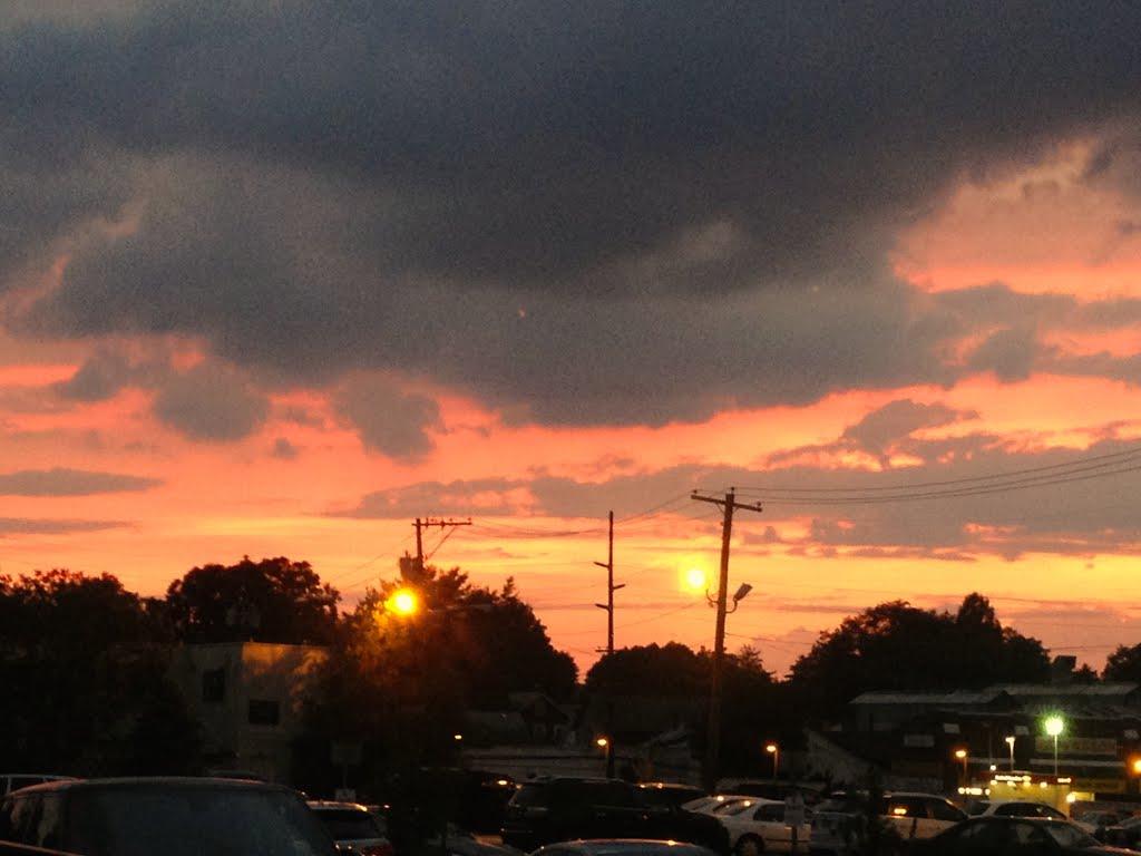 Sunset over Manhasset, Манхассет